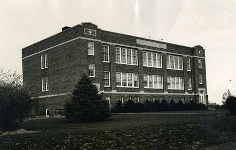 The Rippey school pre 1957