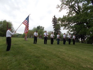 Kinkead-Martin American Legion Post _583 Old Rippey Cemetery, Memorial Day, 2014