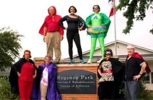 Regency Park super heroes