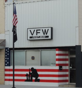 VFW paint job