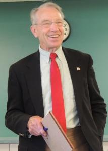 Sen Chuck Grassley, 2014 GCNO file photo