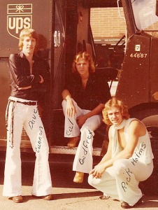 Special Delivery, (from left) Dave Cannon, Cal Godfrey, Rick Holmes