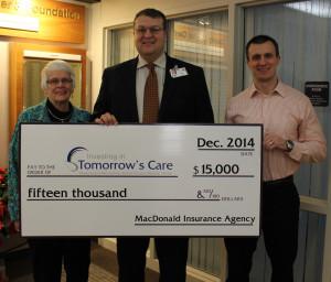 GCMC McDonald Ins donation