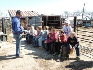 Farm tour Justin Robbins