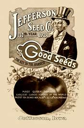 Jefferson Seed catalog