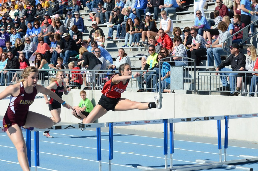 Sorber hurdle relay