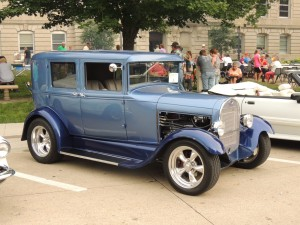 1929 Model A owned by Al and Terri Bass of Fort Dodge