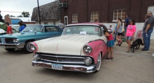 1955 Crown Victoria owned by David Inman of Storm Lake