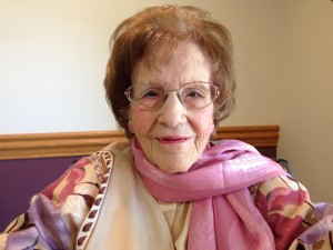 Margaret Baller 100 bday