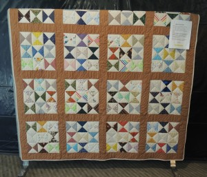Auxiliary quilt