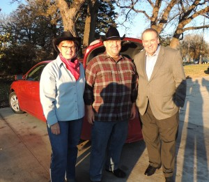 Mary Grandon, Pastor Dave Grandon and Mike Huckabee at 'Trunk-or-Treat'