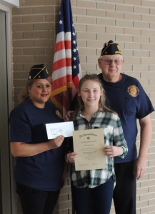 VFW essay winner