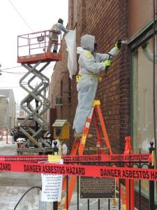 Asbestos removal Feb. 18