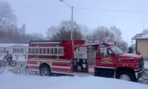 BRR fire truck
