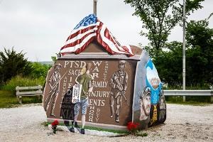 The original Freedom Rock in Adair County