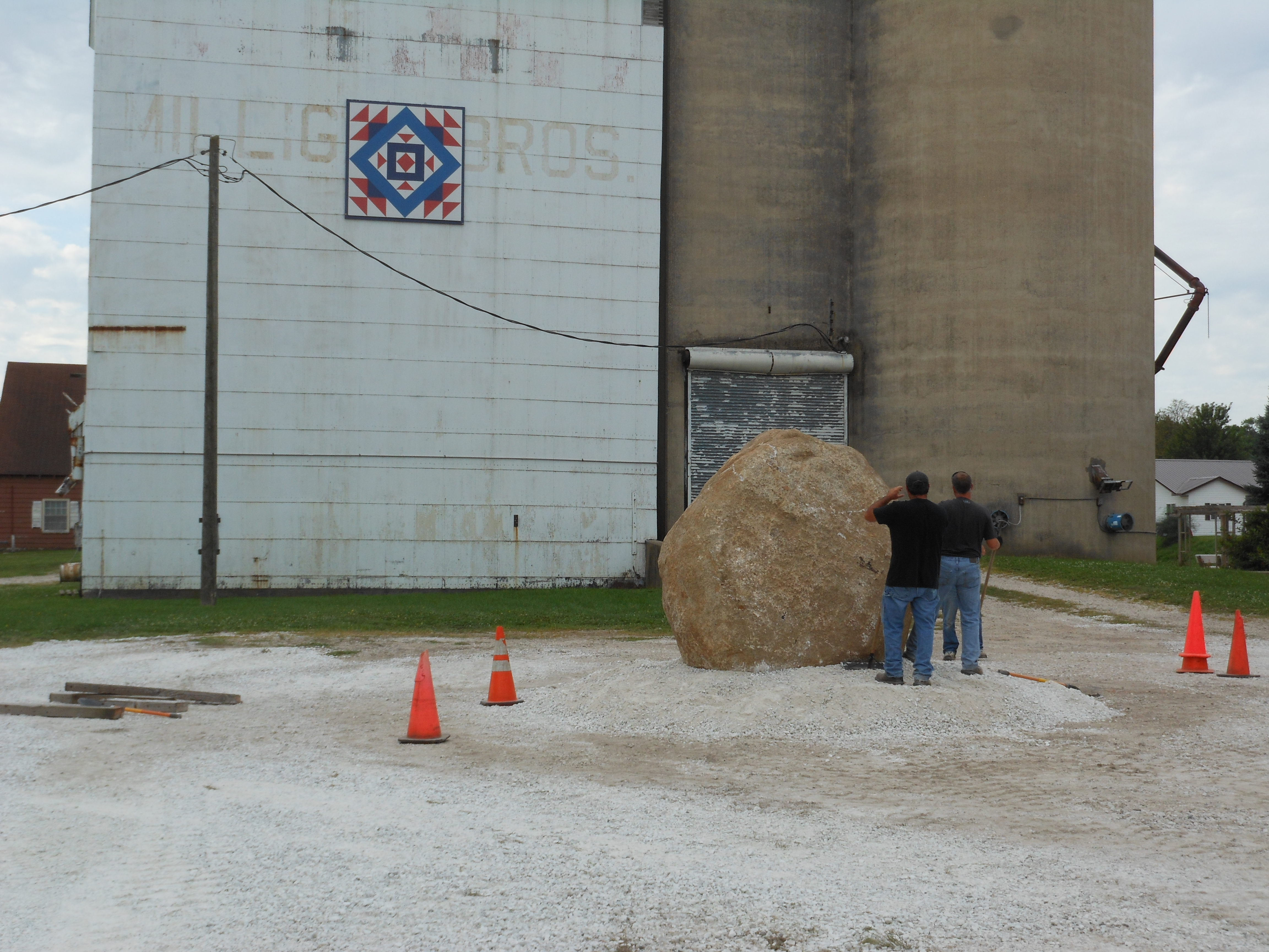 Huge rock is ready to become a Freedom RockGreene County ...